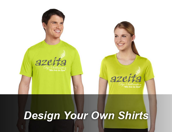 Azeita helps you design your own shirts!